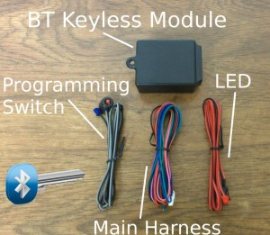 Bluetooth Passive Keyless Entry